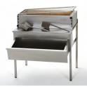 Podstavec grilů Charcoal se zásuvkou na dřevěné uhlí