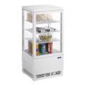 Chladící vitrína cukrářská, čtyřstranně prosklená SC 70 WEISSS (330-1000)