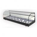 Stolní chlazená vitrína ONIX R6 2P černá