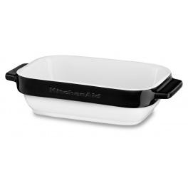 KitchenAid keramický mini pečící set (2ks) - černá