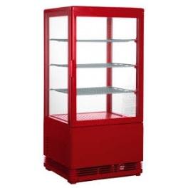 Chladící vitrína cukrářská, čtyřstranně prosklená SC 70 RED(330-1003)