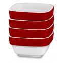 KitchenAid keramický set ramekiny (4ks) - královská červená