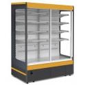 Chladicí vitrína přístěnná JUKA Ryga 130/80 DP - posuvné dveře