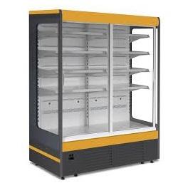 Chladicí vitrína přístěnná JUKA Ryga 160/80 DP - posuvné dveře