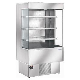 Chladicí vitrína přístěnná ZOIN Silver SI 100B verze otevřená