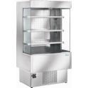 Chladicí vitrína obslužná ZOIN Silver SI 200B verze otevřená