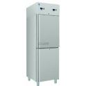S/SN 300 S INOX chladicí, mrazící nerezová skříň, dělený prostor, na GN