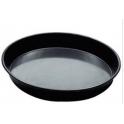 Plech na pizzu ocelový kulatý 40 cm