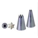 Koncovka lisovaná - hvězda, průměr 18 mm D-2112-24N
