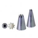 Koncovka lisovaná - hvězda, průměr 18 mm D-2112-23N