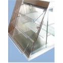 Nerezový tácek pro vitríny HALIFAX 420 x 190 x 10 mm