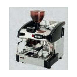 Kávovar jednopákový s mlýnkem - černý EMC 1P/B/M RedFox