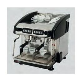 Kávovar dvoupákový - černý EMC 2P/B