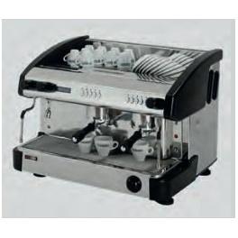 Kávovar dvoupákový - černý EMC 2P/B/D RedFox