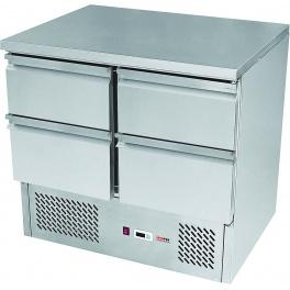 Stůl chladící SZ 902 RedFox (4x zásuvka / 900 mm)