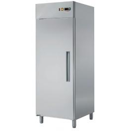 Lednice nerezová RT 700 L RedFox - levé dveře
