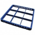 Nástavec 9 pozic 50x50x4,2 cm skla 14,9 cm M5-200-9
