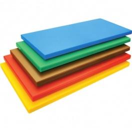 Deska barevná 500 x 325 x 20 mm - žlutá