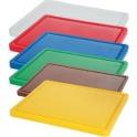 Deska barevná s drážkou 500 x 300 x 15 - červená