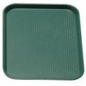 Podnos jídelní, barva zelená, 36 x 46 cm