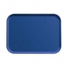 Podnos jídelní, barva modrá, 36 x 46 cm