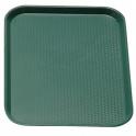 Podnos Fast Food, barva zelená, 30 x 41 cm
