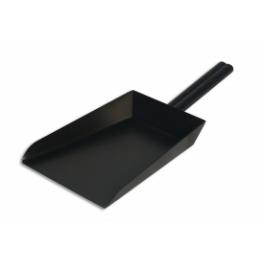 Ocelová lopatka na dřevěné uhlí