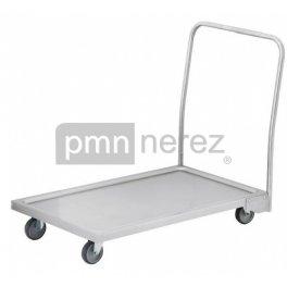 Vozík plošinový 150 kg, 600 x 1000 mm