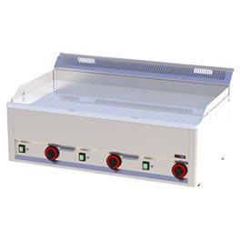 Elektrická grilovací deska hladká chrom FTHC 90 EL RedFox