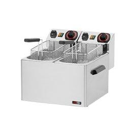 Fritéza elektrická 5+5l - vyšší výkon FE 44 S RedFox, 2x230V