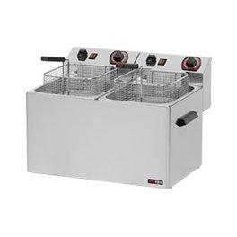 Fritéza elektrická 8+8 litrů FE 77T 400V třífázová RedFox
