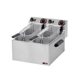 Fritéza elektrická 8+8 litrů na ryby FE-88 2x230V RedFox