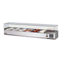 Vitrínka chladící 150 cm VCH 3150 RedFox