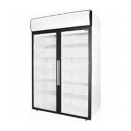 Chladicí skříň - prosklené klasické otevírací dveře POLAIR DM 114