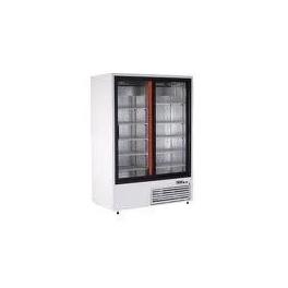 Chladící skříň-2x prosklené dveře, SCH-SR-1400