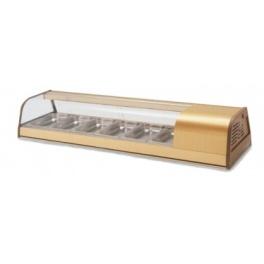 Chladící pultová vitrína prosklená BFIC-6-P - CORECO