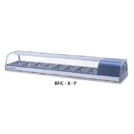 Chladící pultová vitrína prosklená BFIC-8-P - CORECO