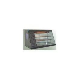 Nerezová stolní vitrína HALIFAX 80N ECO (izolační dvojskla)