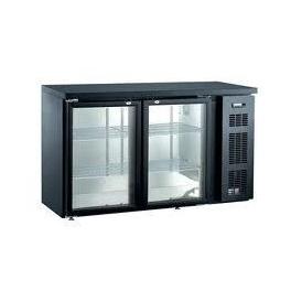 Barový prosklený chladící stůl SGC-2