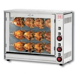 Elektrický gril na kuřata E-12P-S3