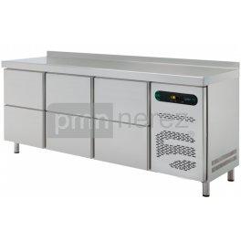 Chladící stůl ASBER ETP-6-200-06 (6x zásuvka / 2000 mm)