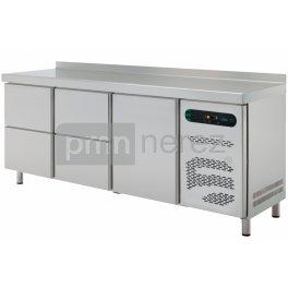 Chladící stůl ASBER ETP-6-200-14 (4x zásuvka, 1x dveře / 2000 mm)