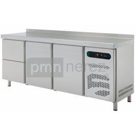 Chladící stůl ASBER ETP-6-200-22 (2x zásuvka, 2x dveře / 2000 mm)