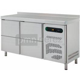 Chladící stůl ASBER linie 600 ETP-6-150-04 (4x zásuvka / 1500 mm)