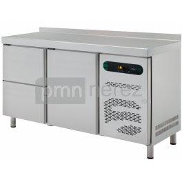 Chladící stůl Asber linie 600 ETP-6-150-12 (2x zásuvka, 1x dveře)