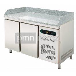 Pizza chladící stůl Asber ETP7-135-20G (GN 1/1) (2x dveře)