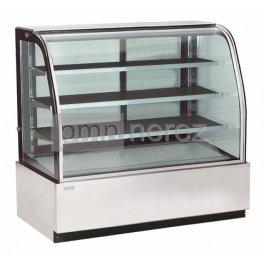 Chladící cukrářská vitrína COLD 840 / délka 1200 mm