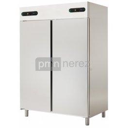 Chladící skříň dvouprost. Asber ECPN-1402/2 kombinovaná