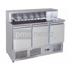 Chladící stůl Saladeta MPS-1370GR (3x dveře / 900 mm)