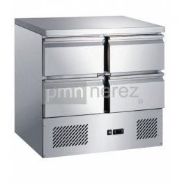 Chladící stůl Saladeta MS-901D4GR (4x zásuvka / 900 mm)